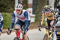 Jasper Stuyven (BEL/Trek-Segafredo)<br /> <br /> 105th Ronde van Vlaanderen 2021 (MEN1.UWT)<br /> <br /> 1 day race from Antwerp to Oudenaarde (BEL/264km) <br /> <br /> ©kramon