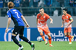Jeju United Forward Marcelo Toscano (C) in action during the AFC Champions League 2017 Group H match Between Jeju United FC (KOR) vs Gamba Osaka (JPN) at the Jeju World Cup Stadium on 09 May 2017 in Jeju, South Korea. Photo by Marcio Rodrigo Machado / Power Sport Images