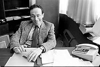 October 20,1987 File Photo - Montreal (Qc) Canada - Leon Serruya