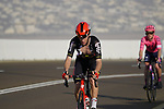 Harrison Sweeny (AUS) Lotto-Soudal on the final climb of Stage 3 of the 2021 UAE Tour running 166km from Al Ain to Jebel Hafeet, Abu Dhabi, UAE. 23rd February 2021.  <br /> Picture: Eoin Clarke | Cyclefile<br /> <br /> All photos usage must carry mandatory copyright credit (© Cyclefile | Eoin Clarke)