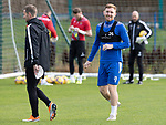 St Johnstone Training….01.10.20     <br />Liam Craig pictured during training at McDiarmid Park ahead of Sundays game against Celtic.<br />Picture by Graeme Hart.<br />Copyright Perthshire Picture Agency<br />Tel: 01738 623350  Mobile: 07990 594431