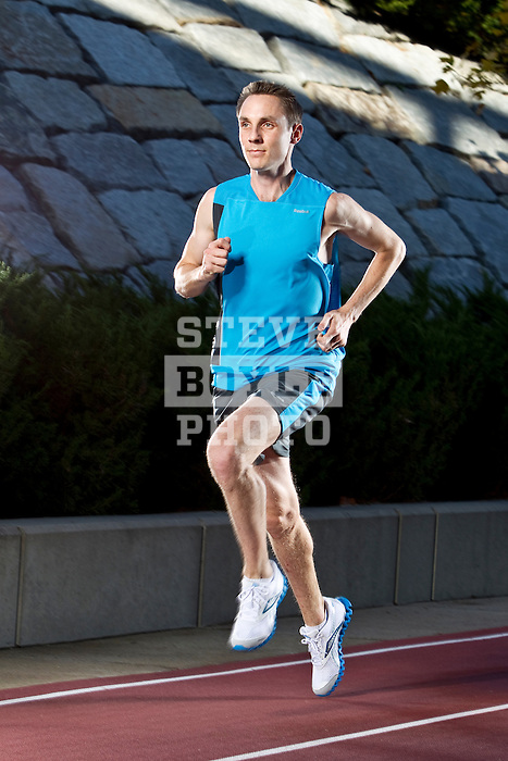 Nick Willis (born 25 April 1983) is a New Zealand middle distance runner. He won the silver medal in the 1500m at the 2008 Olympics in Beijing with a time of 3:34.16 minutes. He was a gold medallist in the 1500 metres at the 2006 Commonwealth Games in Melbourne and a bronze medallist at the 2010 Commonwealth Games. He was the first athlete from New Zealand to win the 1500 metres at the Commonwealth Games...2010 © Steve Boyle