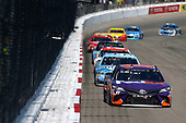 Monster Energy NASCAR Cup Series<br /> Toyota Owners 400<br /> Richmond International Raceway, Richmond, VA USA<br /> Sunday 30 April 2017<br /> Denny Hamlin, Joe Gibbs Racing, FedEx Ground Toyota Camry<br /> World Copyright: Matthew T. Thacker<br /> LAT Images<br /> ref: Digital Image 17RIC1mt1624
