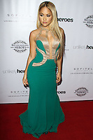 LOS ANGELES, CA, USA - NOVEMBER 08: Kat DeLuna arrives at the Unlikely Heroes' 3rd Annual Awards Dinner And Gala held at the Sofitel Hotel on November 8, 2014 in Los Angeles, California, United States. (Photo by Celebrity Monitor)