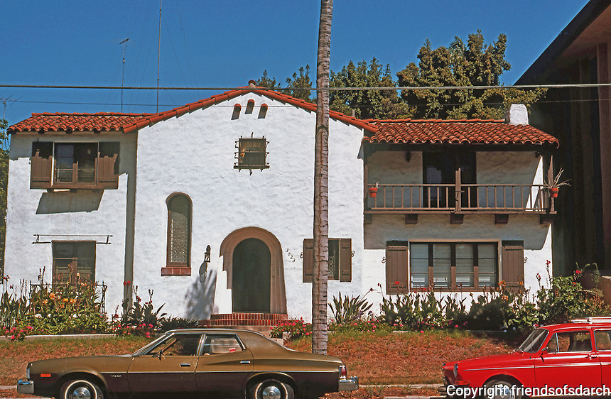 San Diego: Spanish Colonial Revival, circa 1920.  (Photo '78)