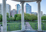 The Parkman Bandstand on Boston Common, Boston, Massachusetts, USA