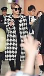 JYJ, Junsu, December 12, 2014, Osaka, Japan : Korean singer Junsu Kim of JYJ arrives Kansai International Airport in Osaka, Japan, on December 12, 2014.
