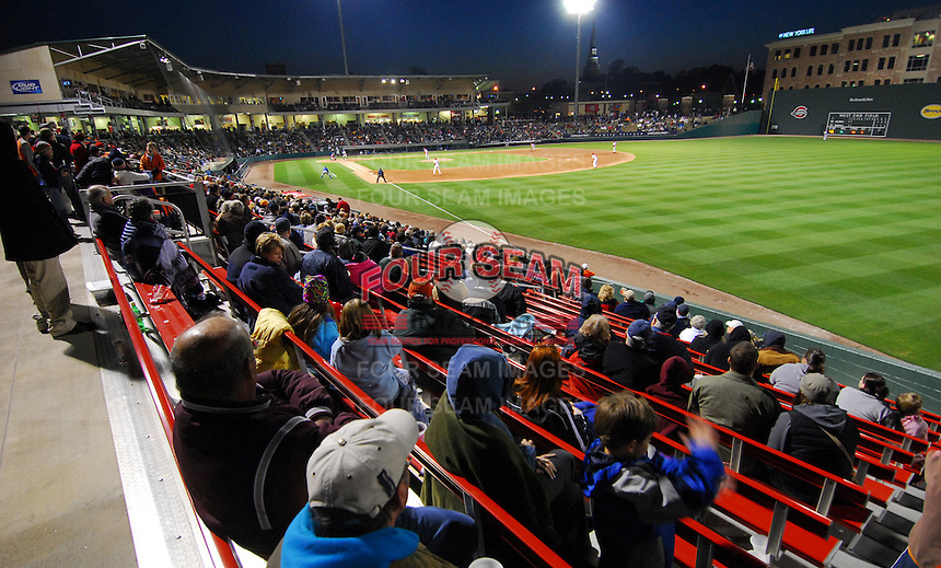 09 April 2007: West End Field, home of the Greenville Drive in a game against the Columbus Catfish Monday, April 9, 2007. Photo by:  Tom Priddy/Four Seam Images