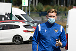St Johnstone v Fleetwood Town…24.07.21  McDiarmid Park<br />Liam Craig arrives at McDiarmid Park ahead of today's pre-season friendly against Fleetwood Town<br />Picture by Graeme Hart.<br />Copyright Perthshire Picture Agency<br />Tel: 01738 623350  Mobile: 07990 594431