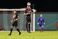 AND, A - SEPTEMBER 11: Andrew Aprahamian during a game between San Jose State and Stanford University at And on September 11, 2021 in And, A.