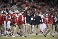 Stanford, Ca - Saturday, November 28, 2015: Stanford 38-36 ove Notre Dame at Stanford Stadium.