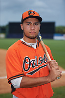 Keenan Bell (36) of Episcopal School of Jacksonville in Jacksonville, Florida playing for the Baltimore Orioles scout team during the East Coast Pro Showcase on July 30, 2015 at George M. Steinbrenner Field in Tampa, Florida.  (Mike Janes/Four Seam Images)