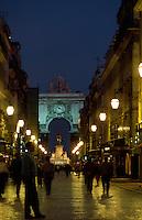 Triumphbogen in Lissabon, Portugal