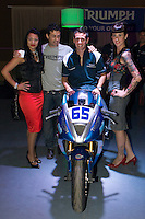 El equipo Triumph(CEV), se presentó en la sala Fussion de Massanassa. La nueva escudería, que tendrá a Iván Romero como piloto. Organizado por Balck Side y Dubón Racing.