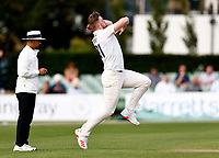 Sean Hunt bowls for Sussex during Kent CCC vs Sussex CCC, LV Insurance County Championship Group 3 Cricket at The Spitfire Ground on 11th July 2021