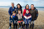 Enjoying a stroll on Banna beach on Sunday.<br /> Front l to r: Jack and Harry Eggleston and Erin O'Rourke. Back l to r: John and Evonne Eggleston, Elaine and Stephen O'Rourke.