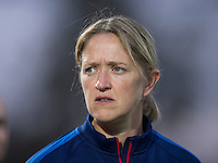 Vila Real de Santo Antonio, Portugal - March 4, 2015:   The USWNT defeated Norway 2-1 during the opening game of the Algarve Cup at Vila Real Santo Antonio Stadium.
