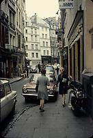 Paris- FRANCE - Sept 1967 File Photo - Saint-Germain-des-Pres