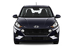 Car photography straight front view of a 2020 Hyundai i10 Twist 5 Door Hatchback Front View