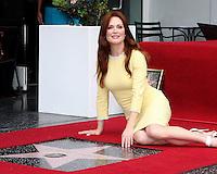Julianne Moore Walk of Fame Star