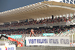 05 Apr 2009, Kuala Lumpur, Malaysia ---   General view the Sepang circuit's main tribune with spectators before the start of the 2009 Fia Formula One Malasyan Grand Prix near Kuala Lumpur. Photo by Victor Fraile --- Image by © Victor Fraile / The Power of Sport Images