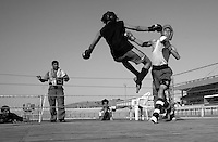 Kung Fu tournament for boys 12-16 years old, held at Kabul Stadium.