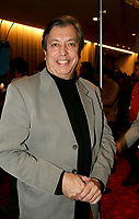 Normand Chouinard<br /> Premiere MAURICE RICHARD, PLace des Arts<br /> Photo : (c) 2005 Pierre Roussel / Images Distribution