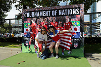Seattle, Washington - Thursday, July 27, 2017.  The USWNT vs. Australia in the Tournament of Nations at CenturyLink Field.