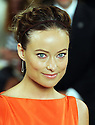 Olivia Wilde at the Ralph Lauren show  at New York Fashion Week, Thursday, 13th September 2012. .Photo by: Stephen Lock / i-Images./ DyD Fotografos