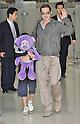 Brad Pitt arrives in South Korea