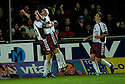 13/11/2006       Copyright Pic: James Stewart.File Name :sct_jspa16_falkirk_v_hearts.ANDRIUS VELICKA CELEBRATES SCORING HEARTS GOAL.James Stewart Photo Agency 19 Carronlea Drive, Falkirk. FK2 8DN      Vat Reg No. 607 6932 25.Office     : +44 (0)1324 570906     .Mobile   : +44 (0)7721 416997.Fax         : +44 (0)1324 570906.E-mail  :  jim@jspa.co.uk.If you require further information then contact Jim Stewart on any of the numbers above.........
