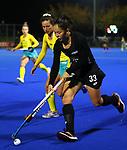 Julia King during the Trans Tasman Hockey match between the New Zealand Blacksticks Women and the Australian Hockeyroos, Massey University Hockey Turf, Palmerston North, New Zealand. Thursday 27 May 2021 Photo: Simon Watts/www.bwmedia.co.nz