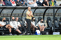 19th September  2021; Angers, Pays de la Loire, France; French League 1 football Angers versus Nantes;  Gerald Baticle trainer of Angers