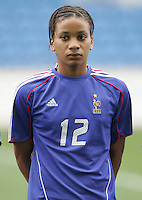 MAR 15, 2006: Faro, Portugal:  Elodie Thomis
