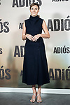 Mona Martinez in the press junction of 'ADIOS', the new work of director Paco Cabezas, which has an undisputed and recognized cast headed by Mario Casas, the two-time winner of Goya Natalia de Molina, and Goya nominees Ruth Diaz and Carlos Bardem.<br /> November 15, 2019. <br /> (ALTERPHOTOS/David Jar)