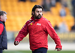 St Johnstone v Dundee…11.03.17     SPFL    McDiarmid Park<br />Paul Hartley<br />Picture by Graeme Hart.<br />Copyright Perthshire Picture Agency<br />Tel: 01738 623350  Mobile: 07990 594431