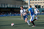 Glasgow Rangers (in blue) vs HKFC (in white), during their Main Tournament match, part of the HKFC Citi Soccer Sevens 2017 on 27 May 2017 at the Hong Kong Football Club, Hong Kong, China. Photo by Marcio Rodrigo Machado / Power Sport Images