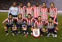 Chivas USA starting eleven. Chivas USA and the LA Galaxy played to a 0-0 draw at Home Depot Center stadium in Carson, California on Saturday April 11, 2009.  .