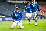 St Mirren v St Johnstone…09.05.21  Scottish Cup Semi-Final Hampden Park <br />Glenn Middleton celebrates his goal<br />Picture by Graeme Hart.<br />Copyright Perthshire Picture Agency<br />Tel: 01738 623350  Mobile: 07990 594431