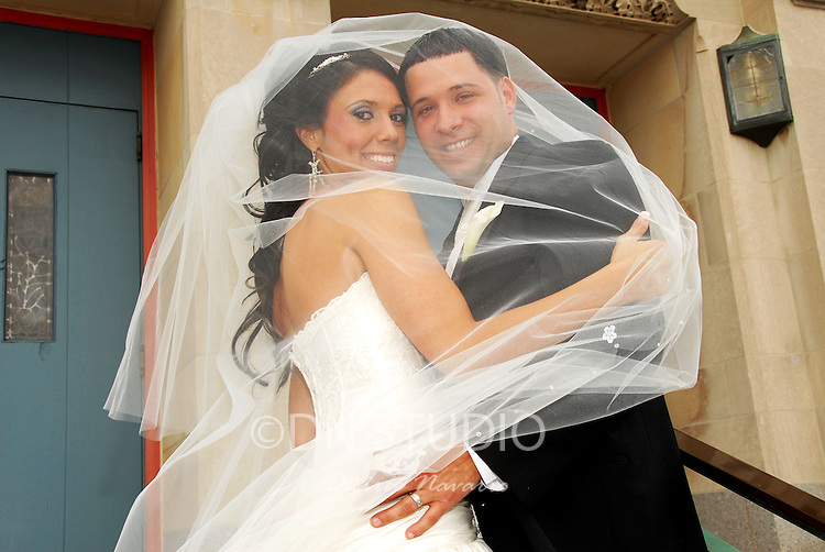 The wedding of Dana Martonella and Giuseppe Musso at Our Lady of Perpetual Help Church in Queens, New York on Saturday May 17, 2008.