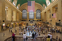 Main CONCOURSE inside GRAND CENTRAL STATION - NEW YORK CITY