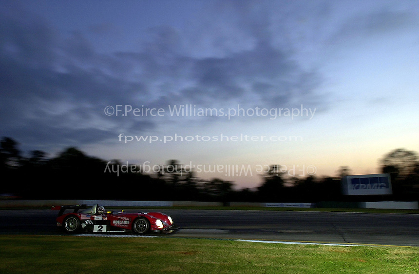 Petit Le Mans, Road Atlanta, Brazelton,GA,USA .30 September,2000  copyright©F.Peirce Williams 2000.Johnny O'Connell in the #2 Panoz LMP Roadster..