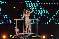 Spice Girls.Melanie Brown aka Scary Spice .Londra 12/08/2012 Olympic Stadium.London 2012 Olympic Games Closing Ceremony.Olimpiadi Londra 2012 Cerimonia d chiusura.Foto Insidefoto Giovanni Minozzi.