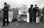 Greenham Common Women's Peace Camp 1985.