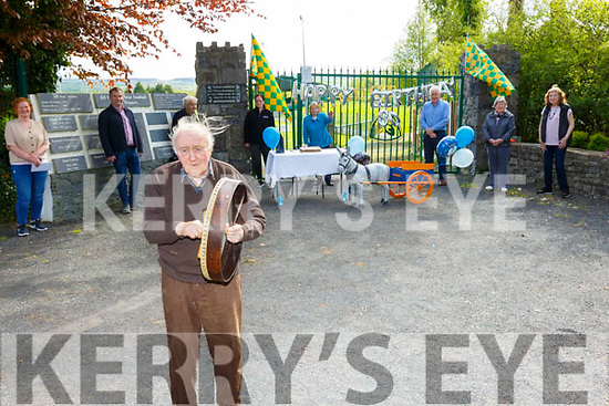 80th Birthday: Michaedl Hayes, Finuge celebrating his 80th birthday with his neighbours at Finuge GAA grounds on Saturday last.