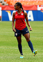 WASHINGTON D.C. - September 02, 2013:<br /> Crystal Dunn During a USA WNT open practice at RFK Stadium, in Washington D.C. the day before the USA v Mexico international friendly match.