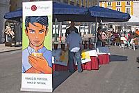 viniportugal stand praca do comercio lisbon portugal
