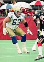 Chris Walby Winnipeg Blue Bombers. Photo Scott Grant