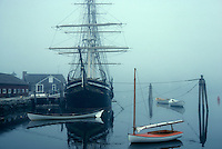 Mystic seaport Joseph Conrad in fog Mystic CT
