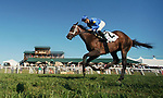 September 06, 2021: Turnerloose #2, ridden by jockey Florent Geroux wins the Listed Aristocrat Juvenile Fillies Stakes at Kentucky Downs Racecourse in Franklin, Kentucky on September 6th, 2021. Scott Serio/Eclipse Sportswire/CSM